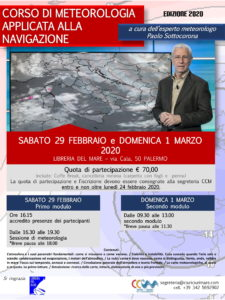 locandina corso meteorologia